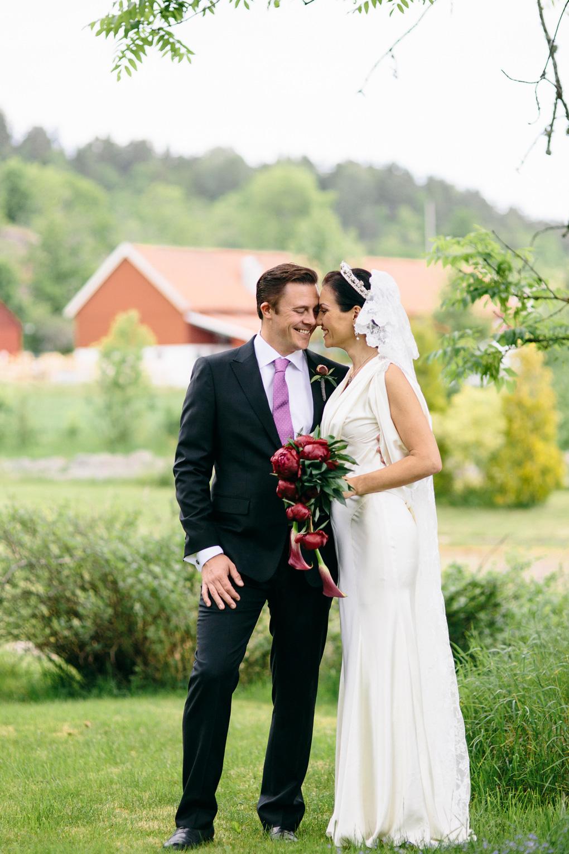 porträtt bröllop hjärtum
