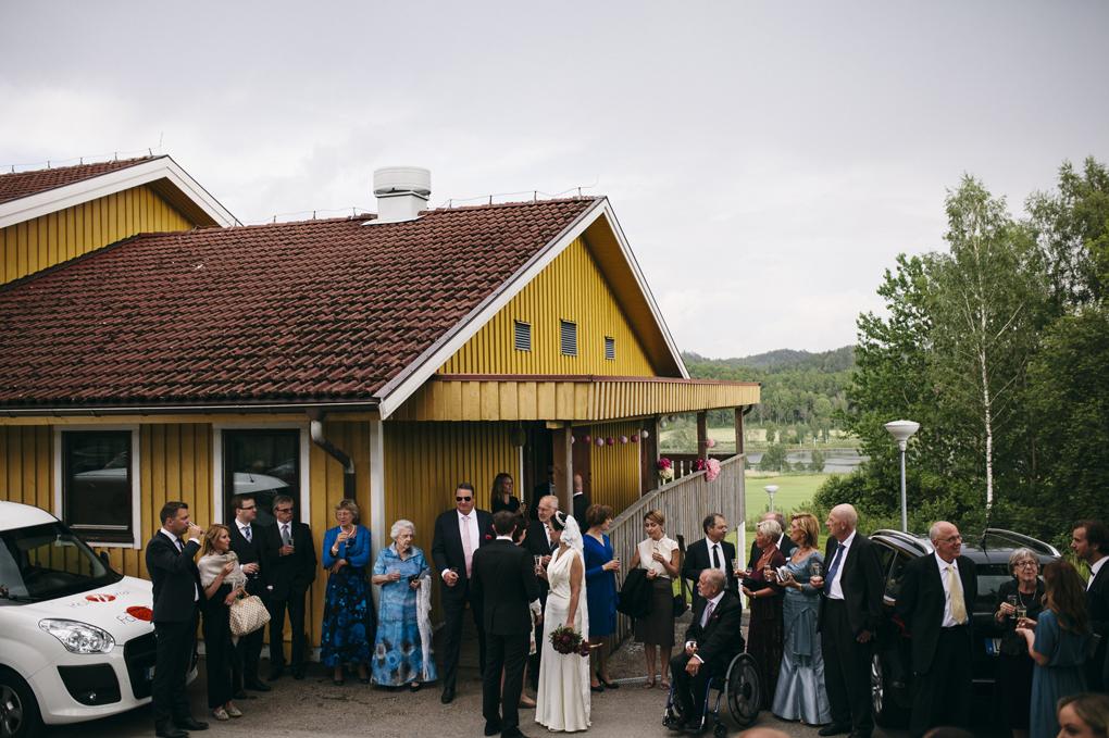 bröllop trollhättan hjärtumsgården mingel