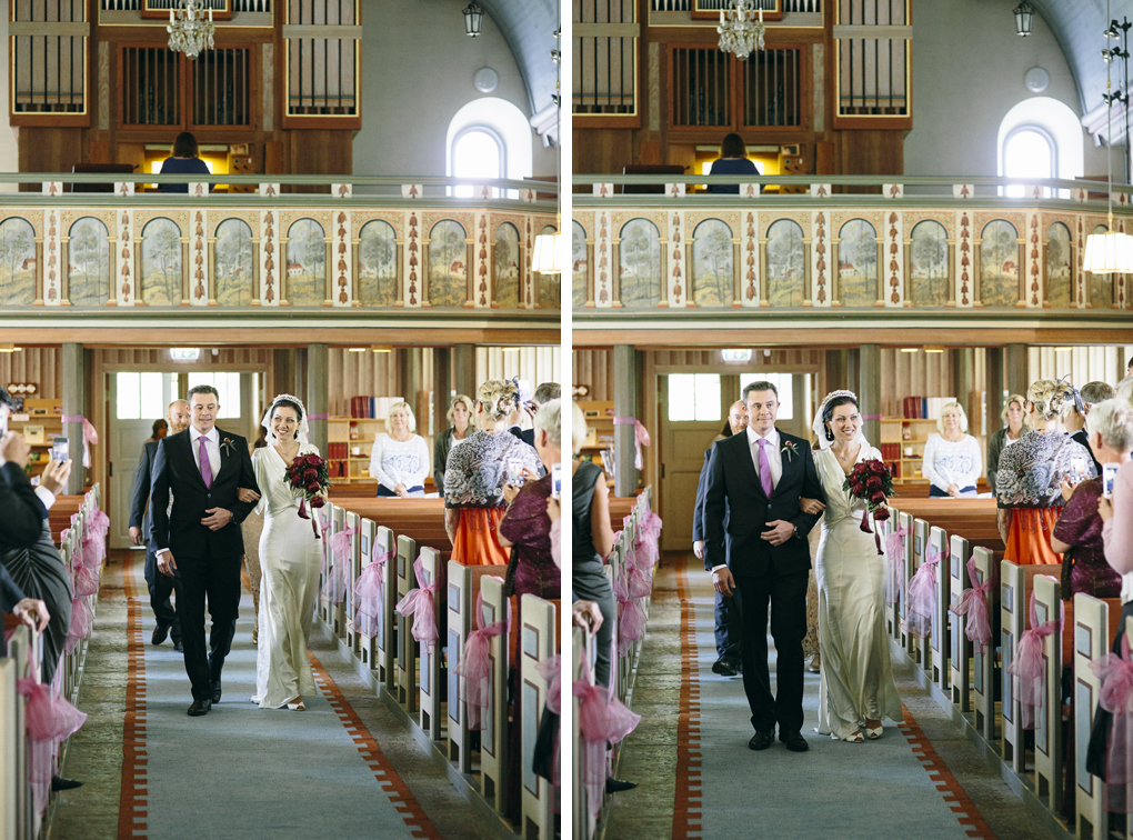 bröllop trollhättan hjärtums kyrka vigsel