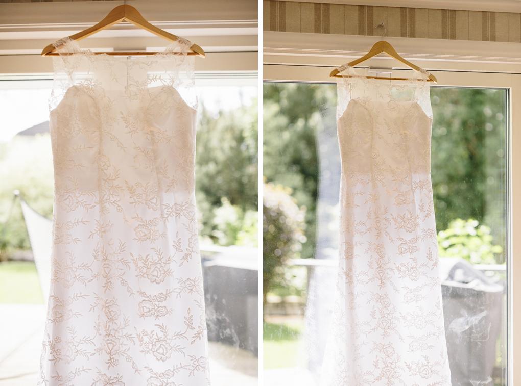 bröllop kinna brudklänning