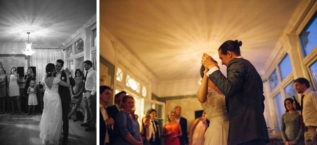 brudparets första dans
