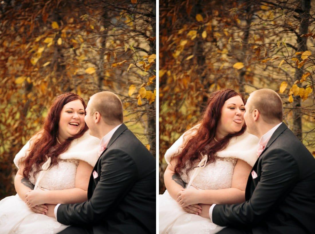 höst bröllop