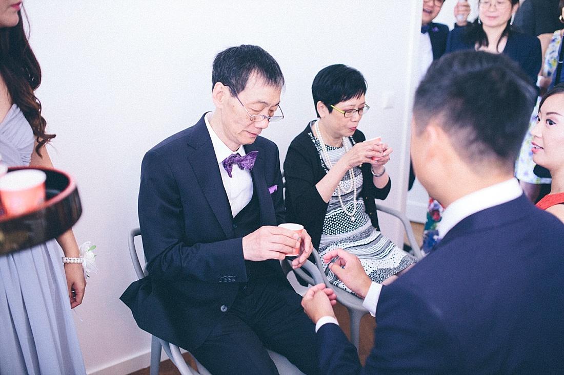 asiatiskt bröllop teceremoni